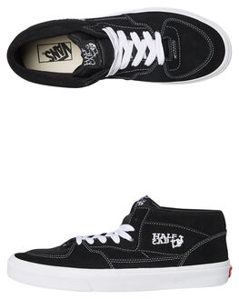 BLACK WHITE MENS FOOTWEAR VANS SNEAKERS - VN-0DZ31BLKW