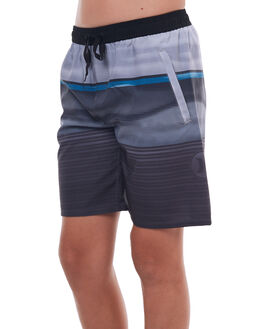 BLACK KIDS BOYS HURLEY BOARDSHORTS - ABBSEFRED00A