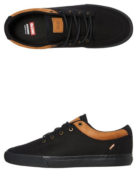 LONG BLACK MENS FOOTWEAR GLOBE SNEAKERS - GBGS20463