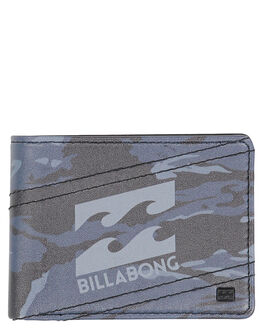 BLACK CAMO MENS ACCESSORIES BILLABONG WALLETS - 9691192BBKCAM