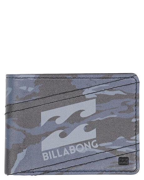 BLACK CAMO MENS ACCESSORIES BILLABONG WALLETS - 9691192BBKCAM