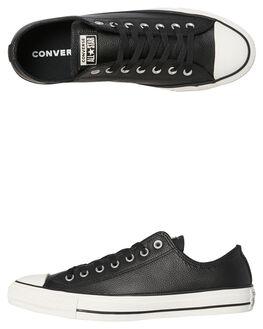 BLACK EGRET WOMENS FOOTWEAR CONVERSE SNEAKERS - SS161497BKEGW