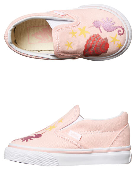 PINK KIDS TODDLER GIRLS VANS FOOTWEAR - VNA32QJOOHPNK