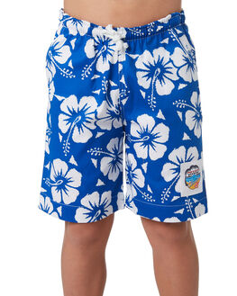 BLUE KIDS BOYS OKANUI BOARDSHORTS - BBHBBU