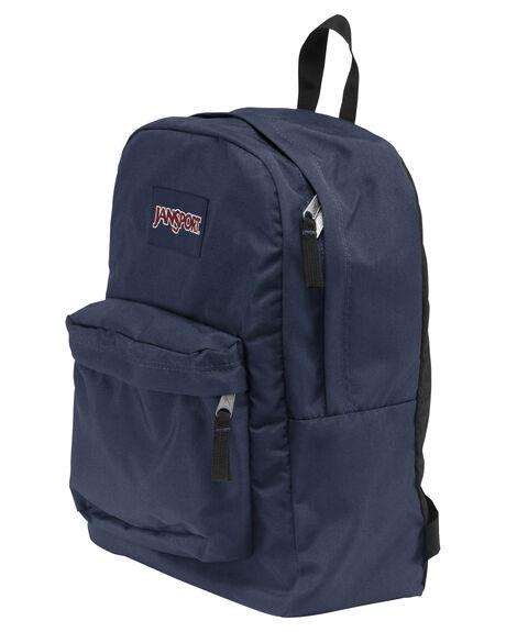NAVY MENS ACCESSORIES JANSPORT BAGS + BACKPACKS - JST501_JS003NVY