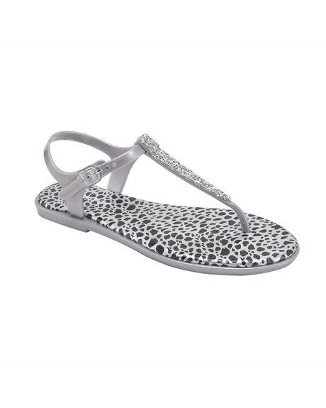 SILVER WOMENS FOOTWEAR HOLSTER FASHION SANDALS - HST352SI