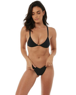 BLACK WOMENS CLOTHING IMPERIAL MOTION BIKINI TOPS - 201701010003BLK