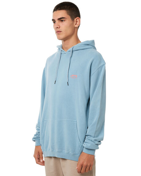 DUSTY BLUE MENS CLOTHING STUSSY JUMPERS - ST085200DBLUE