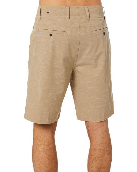 KHAKI MENS CLOTHING HURLEY SHORTS - CJ6236235