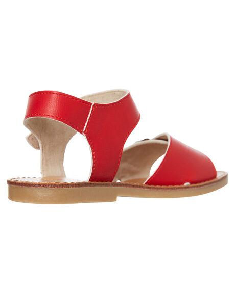 RED KIDS GIRLS WALNUT FOOTWEAR - RYDERRED