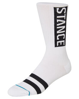 WHITE MENS CLOTHING STANCE SOCKS + UNDERWEAR - M556D17OGGWHT