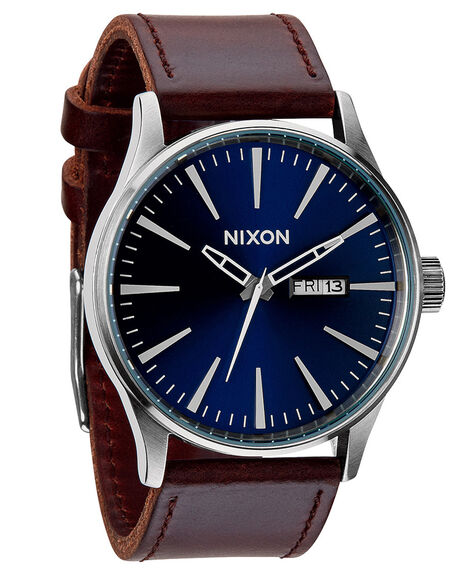 BLUE BROWN MENS ACCESSORIES NIXON WATCHES - A1051524