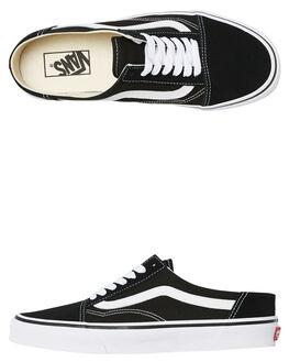 BLACK WOMENS FOOTWEAR VANS SNEAKERS - SSVNA3MUS6BTBLKW