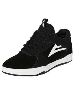 BLACK SUEDE MENS FOOTWEAR LAKAI SKATE SHOES - MS2190120B00BLKS