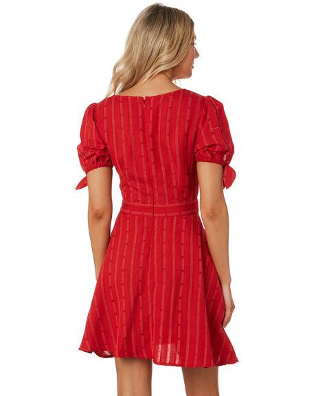 CRIMSON OUTLET WOMENS TIGERLILY DRESSES - T391405CRI