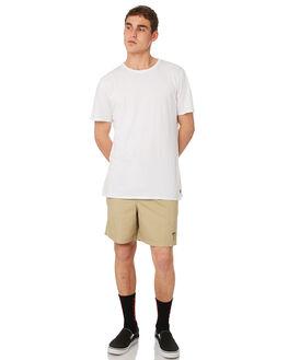 TAN MENS CLOTHING STUSSY BOARDSHORTS - ST081610TAN