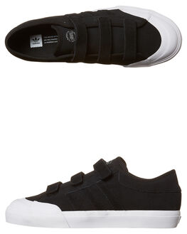 BLACK WHITE MENS FOOTWEAR ADIDAS ORIGINALS SKATE SHOES - CG4509BKWH