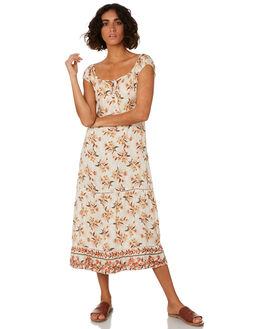 CREAM WOMENS CLOTHING THE HIDDEN WAY DRESSES - H8201451CREAM