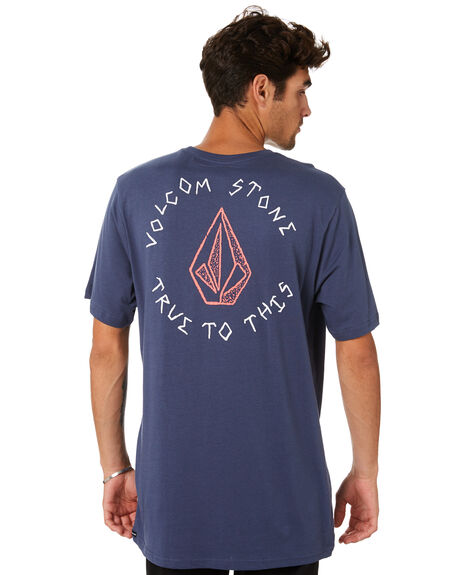 BLUE OUTLET MENS VOLCOM TEES - A504188GBLU