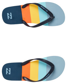 NAVY MENS FOOTWEAR BILLABONG THONGS - 9695947NAVY