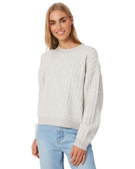 GREY MARLE WOMENS CLOTHING NUDE LUCY KNITS + CARDIGANS - NU23840GRML
