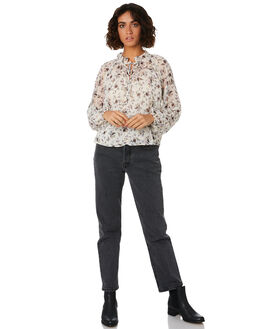 CREAM FLORAL WOMENS CLOTHING THE FIFTH LABEL FASHION TOPS - 40190654-2CRM