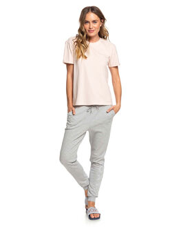 PEACH BLUSH WOMENS CLOTHING ROXY TEES - ERJZT04844-MDT0