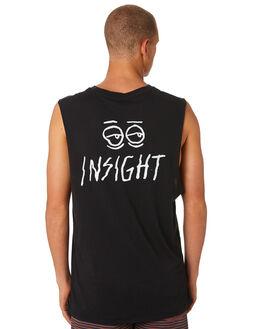BLACK MENS CLOTHING INSIGHT SINGLETS - 1000061753BLK