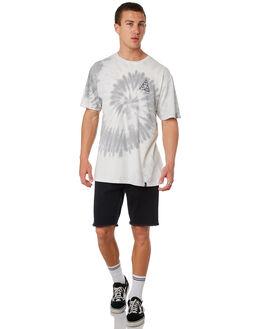 GREY MENS CLOTHING HUF TEES - TS00644-GREY
