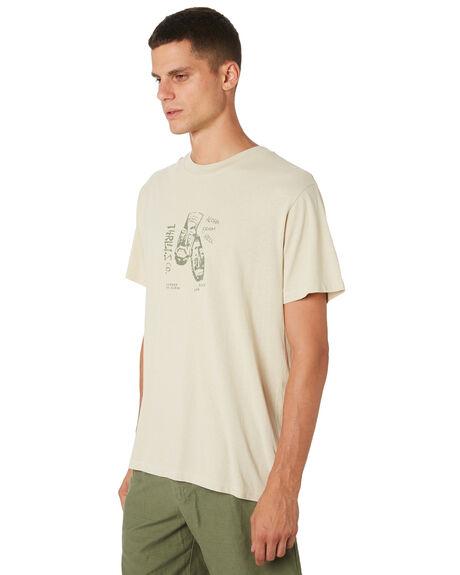 TIKI WHITE MENS CLOTHING THRILLS TEES - TH9-121ATIKWH