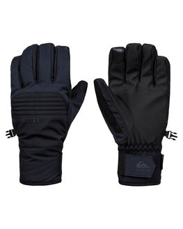 BLACK BOARDSPORTS SNOW QUIKSILVER GLOVES - EQYHN03118-KVJ0