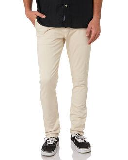 OATMEAL MENS CLOTHING ACADEMY BRAND PANTS - BA104OAT