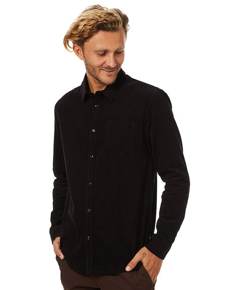 BLACK MENS CLOTHING SWELL SHIRTS - S5173173BLK
