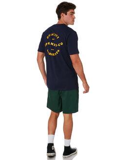 NAVY MENS CLOTHING RPM TEES - 9PMT03ANVY