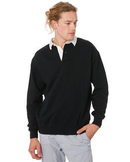 BLACK MILK MENS CLOTHING ZANEROBE JUMPERS - 401-RSPBLKMK