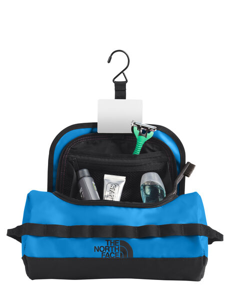 CLEAR LAKE BLUE MENS ACCESSORIES THE NORTH FACE BAGS + BACKPACKS - NF00A6SRME9
