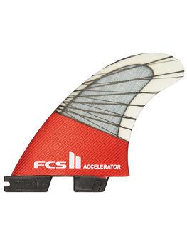 RED MOOD SURF HARDWARE FCS FINS - FACC-CC02-TS-RRDM