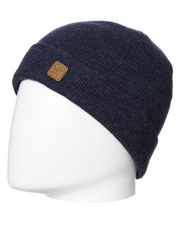 HEATHER NAVY MENS ACCESSORIES COAL HEADWEAR - 7HAR-HNAV