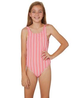 RED WHITE KIDS GIRLS SEAFOLLY SWIMWEAR - 15622RED
