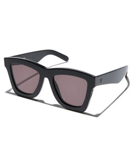 GLOSS BLACK MENS ACCESSORIES VALLEY SUNGLASSES - S0384GBLK