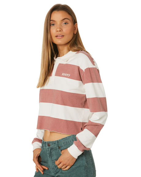 WASHED RED WOMENS CLOTHING RUSTY TEES - TTL0989WIR