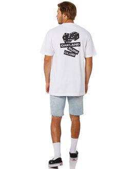 WHITE MENS CLOTHING OAKLAND SURF CLUB TEES - SS19T5002WHT