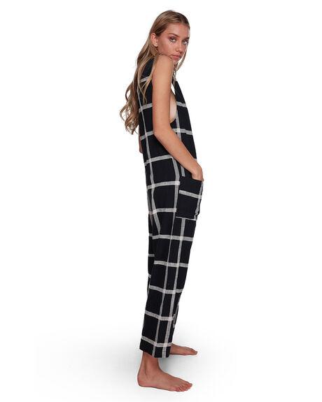 OFF BLACK WOMENS CLOTHING BILLABONG PLAYSUITS + OVERALLS - BB-6507508-OFB