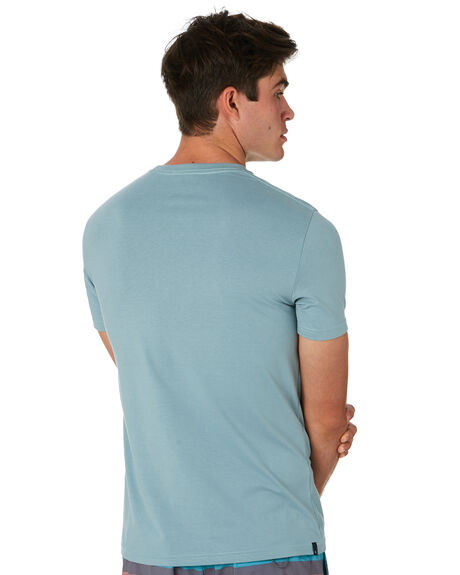 DUSTY BLUE MENS CLOTHING RIP CURL TEES - CTESY23458