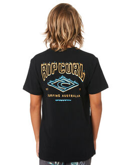 BLACK KIDS BOYS RIP CURL TOPS - KTEWY30090