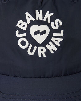 INSIGNIA BLUE MENS ACCESSORIES BANKS HEADWEAR - HA0093ISB