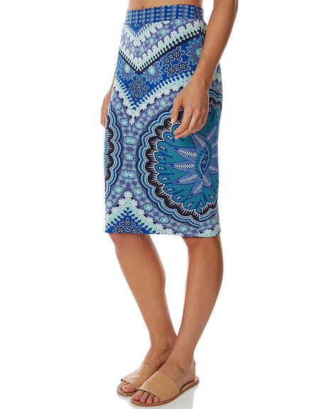 EGYPTIAN BLUE WOMENS CLOTHING TIGERLILY SKIRTS - T367270EGBL
