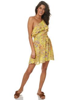 SUNFLOWER WOMENS CLOTHING TIGERLILY DRESSES - T372433SUN