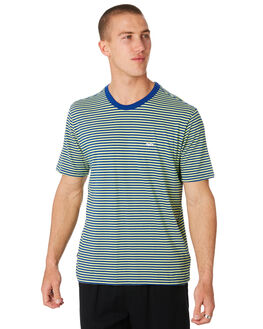 SURF BLUE MENS CLOTHING OBEY TEES - 131080182SRFBL