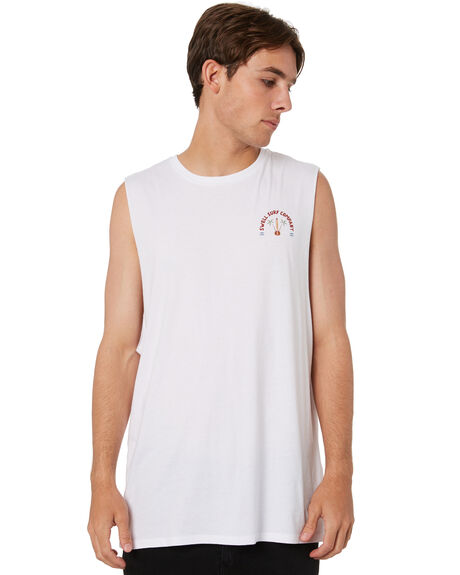 WHITE MENS CLOTHING SWELL SINGLETS - S5213273WHT